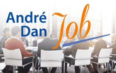 AndréDanJOB lundi 30 novembre 21-22h (HParis) par Zoom : ENTRAIDE pour ton JOB (1 fois par mois)
